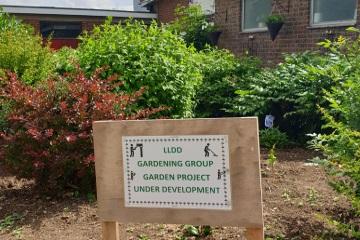 Poverest Centre. LLDD Gardening Group. Specialist Learning