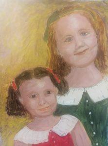 Ann - granddaughters inspired by Renoir