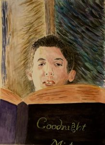 Lesley - grandson inspired by Renoir