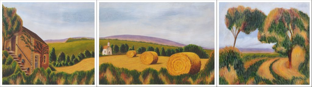 Sue DL - Renoir triptych