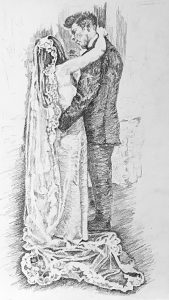 Wendy - sons wedding inspired by Renoir