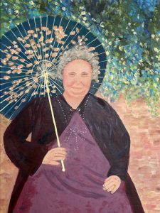 Susan S - great grandmother inspired by Renoir