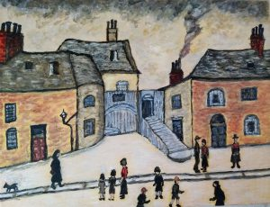 Diana C - Appropriation of Lowry