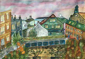 Mary - own neighbourhood painting