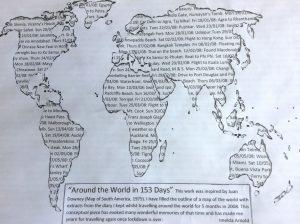 Imelda - trip round the world