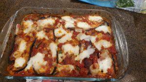 Italian aubergine dish