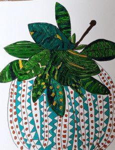 Mikki Bate - Plant Pot Acrylic