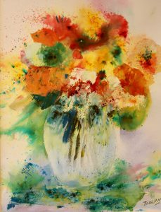 Sally Walters - slash of colours