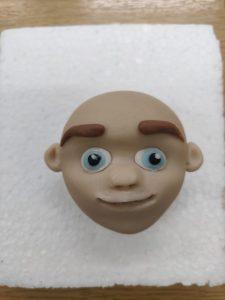 Cake face top